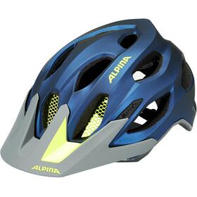 Alpina Carapax 2.0 Helm darkblue-neon